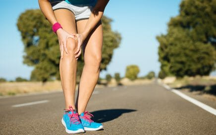 Knee pain from running
