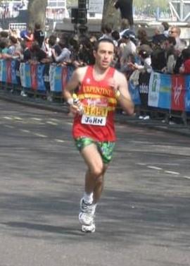 John Nugus running